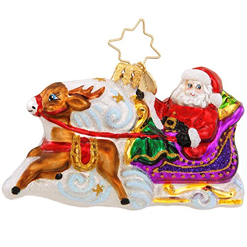 Christopher Radko Magic Journey Little Gem Christmas Ornament