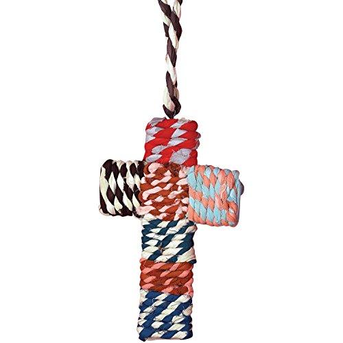 Sage & Co. XAO14717 Chindi Cross Ornament