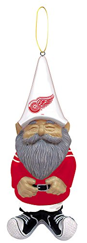 Gnome Ornament, Detroit Red Wings