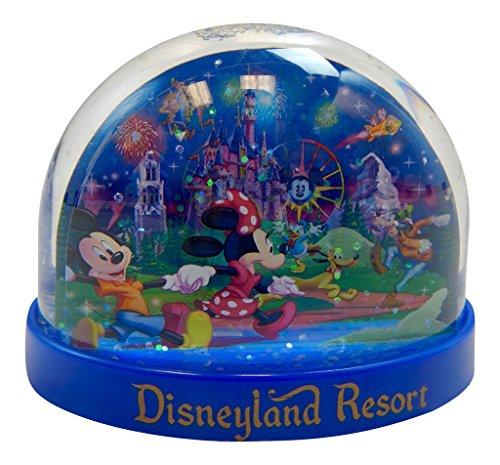 Disneyland Resort Storybook at Night Plastic Snowglobe