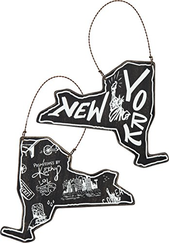 State of New York Hanging Ornament
