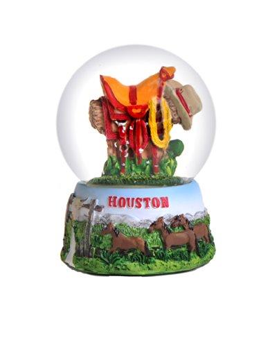 Houston Texas Snow Globe 65mm