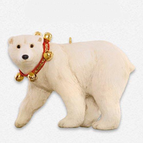 Father Christmas's Polar Bear Ornament 2015 Hallmark