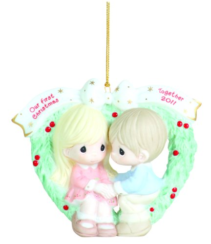 "Precious Moments, 2011 Dated Ornament ""Our First Christmas Together"""
