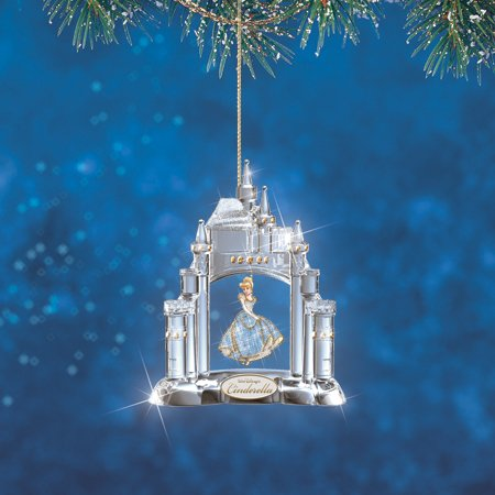 Charming Cinderella Ultimate 3D Disney Crystal Reflections Ornament Collection
