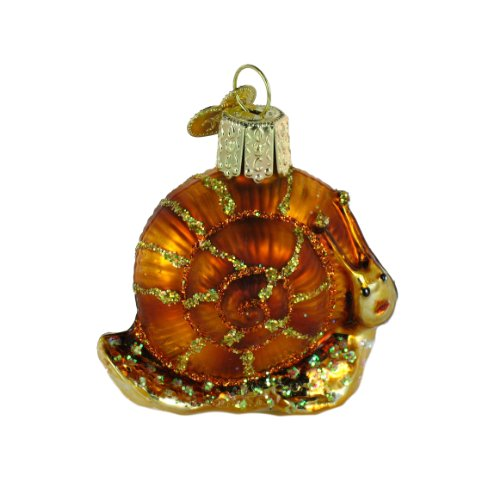 Old World Christmas Snail Ornament