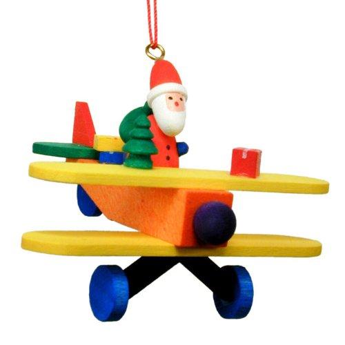 Christian Ulbricht Santa Biplane Christmas Ornament