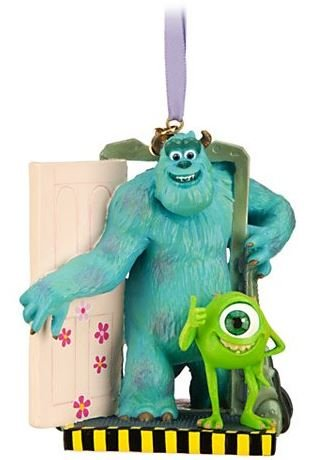 Disney/Pixar Limited Edition Monsters, Inc. Sulley and Mike Sketchbook Ornament