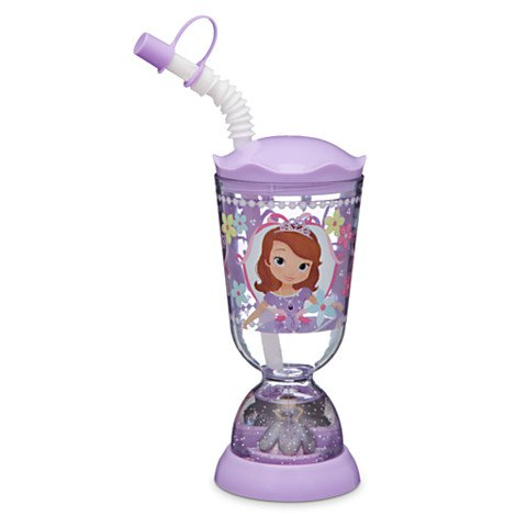 Disney Kids Snowglobe Tumbler with Straw – Sophia the First