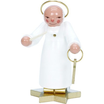 "31400 – Christian Ulbricht Ornament – White St. Peter – 3.5″""H x 2.25″""W x 2″""D"