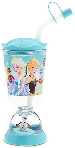 Disney Frozen Snowglobe Tumbler with Straw [Blue]