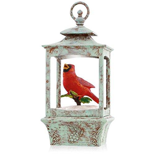 Hallmark QGO1319 Cardinal Lantern Joy to the World Musical Ornament