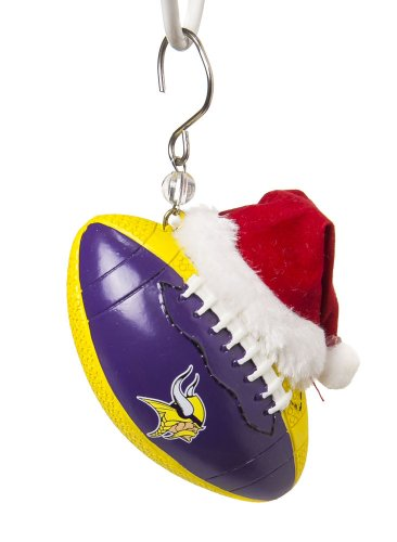 Minnesota Vikings Football Christmas Ornament