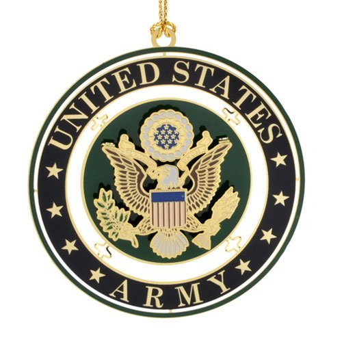 ChemArt United States Army Seal Ornament