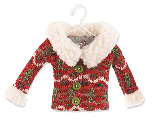 Mud Pie Sweater and Vest Ornaments (Sweater)