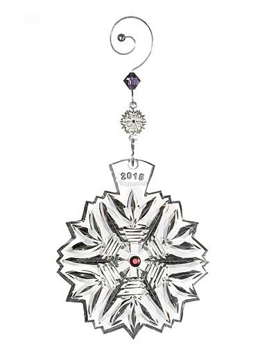Waterford Snowflake Wishes Ornament 2015