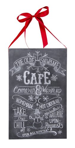 Primitives by Kathy Olde Snowflake Cafe Chalkboard