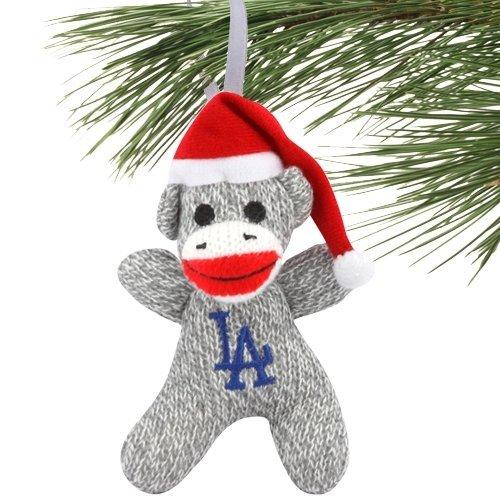 MLB Los Angeles Dodgers 2013 Sock Monkey Ornament