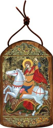 G. Debrekht Saint George Icon Wooden Ornament