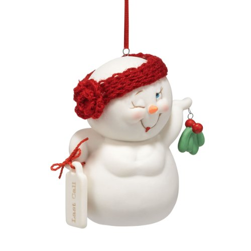 Department 56 Snow Pinions Last Call Ornament, 3-Inch