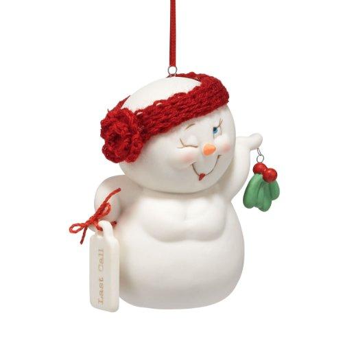 Department 56 Snow Pinions Last Call Ornament, 3-Inch