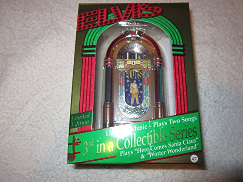 Elvis Presley – Jukebox 1997 Lights & Musical Carlton Cards Christmas Ornament