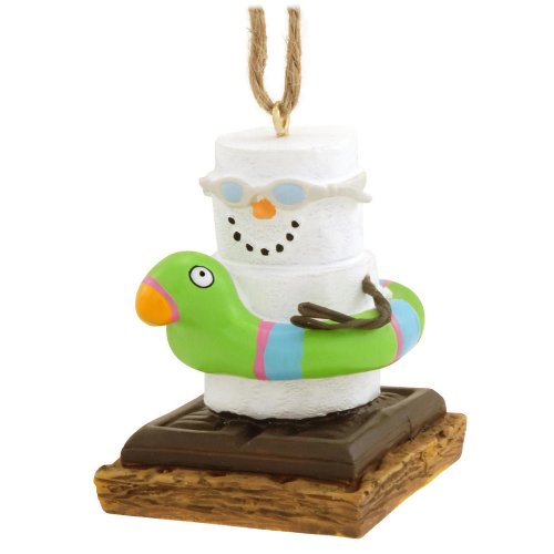 Floating S'more Ornament