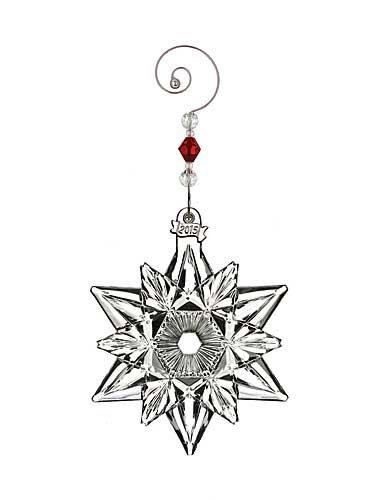 Waterford Annual Snow Crystal Pierced Ornament