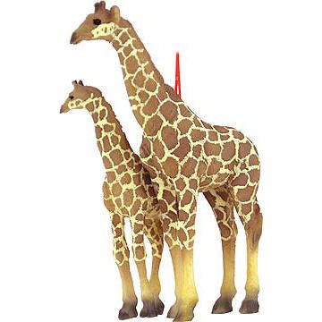 Giraffe with Calf Ornament
