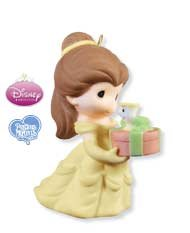 2009 Hallmark BELLE AND CHIP Precious Moments Limited Quantity Ornament