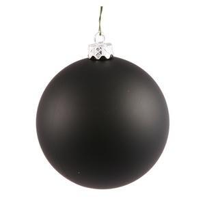 Vickerman 392799 – 2.4″ Black Matte Ball Christmas Tree Ornament (24 pack) (N590617DMV)