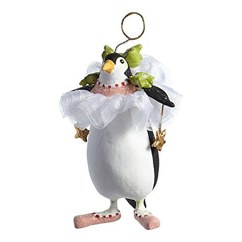 3.25″ Patience Brewster Krinkles Mini Millicent Penguin Decorative Christmas Ornament