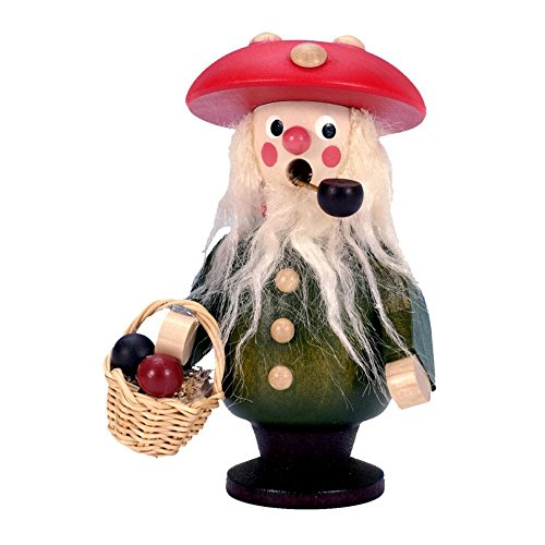 "35-661 – Christian Ulbricht Incense Burner – Mushroom Man – 4″""H x 3″""W x 2.5″""D"