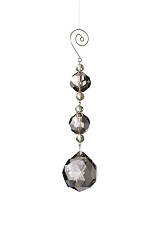 Sage & Co. XAO16228SM 7″ Crystal Ball Drop Ornament