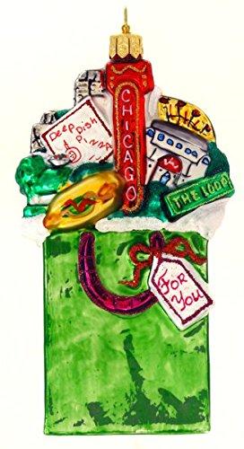 Michael Storrings for Landmark Creations Chicago-In-A-Bag Ornament