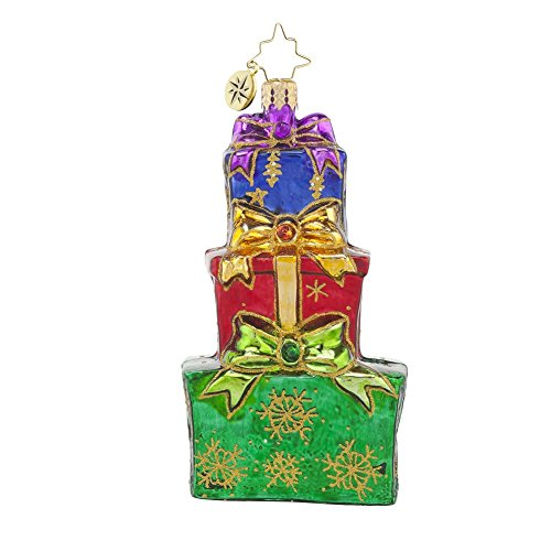 Christopher Radko Pile of Treasure Glass Christmas Ornament
