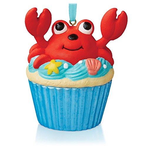 A Little Crab Cake Keepsake Cupcake Ornament 2015 Hallmark