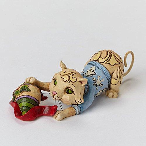 Enesco Jim Shore Mini Christmas Cat with Ornament