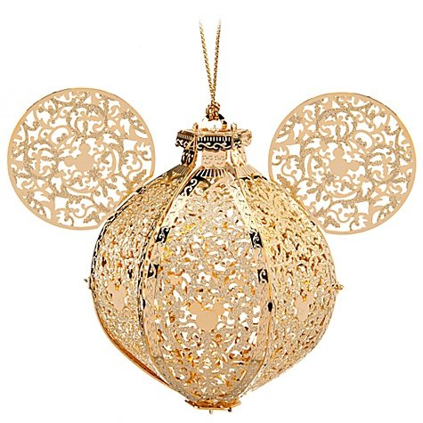 Exclusive Victorian Icon Mickey Mouse Ornament By Baldwin