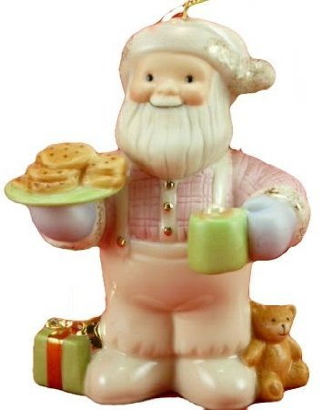 Lenox Santa's Midnight Snack Ornament