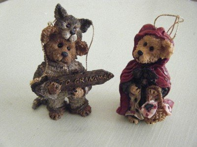 Boyds Bears Bailey and Matthew Limited Edition Ornaments