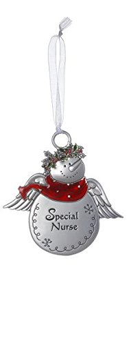 Christmas Snowmen Ornaments -Special Nurse