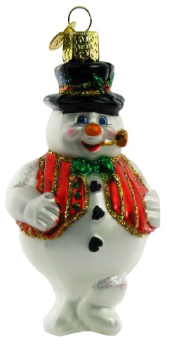 Old World Christmas Mr. Frosty Ornament