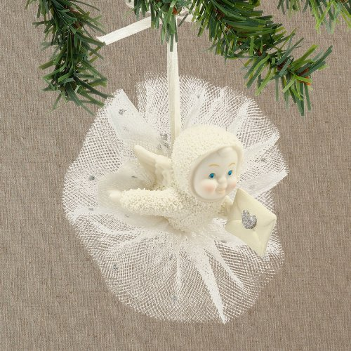 Snowbabies Dream Sealed with a Kiss Ornament Figurine, 2-Inch