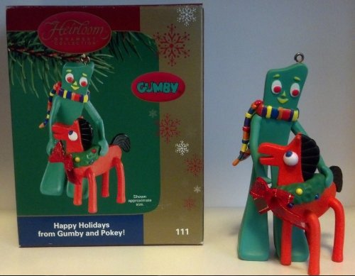 Carlton Heirloom Collection Gumby 'Happy Holidays from Gumby and Pokey!' – 2004