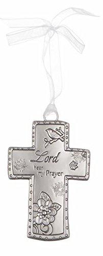 Cross Ornament By Ganz- Lord Hear My Prayer