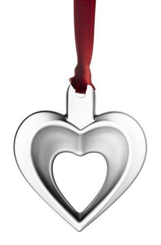 Orrefors 2007 Annual Ornament, Heart