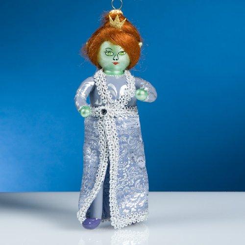 De Carlini Princess Fiona Italian Mouthblown Glass Christmas Ornament