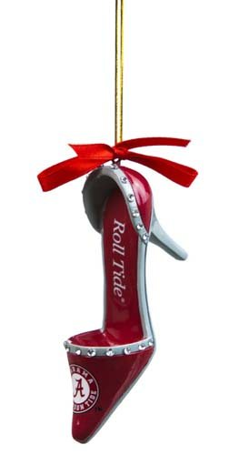 Alabama Crimson Tide Official NCAA 3 inch x 1.5 inch Team Shoe Ornament