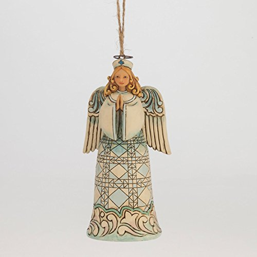 Enesco Jim Shore Nurse Angel Ornament